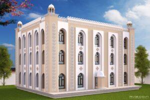 RELIGIOUSLY DETAILED MASJID
